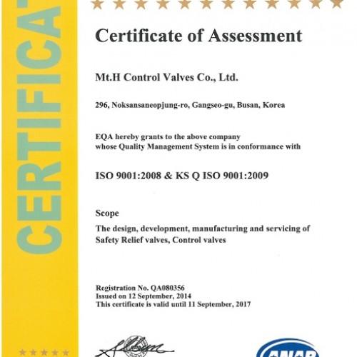 01. ISO 9001_2008 & KS Q ISO 9001_2009